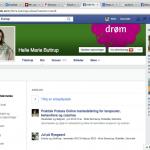 sådan linker du til din firmaside på facebook